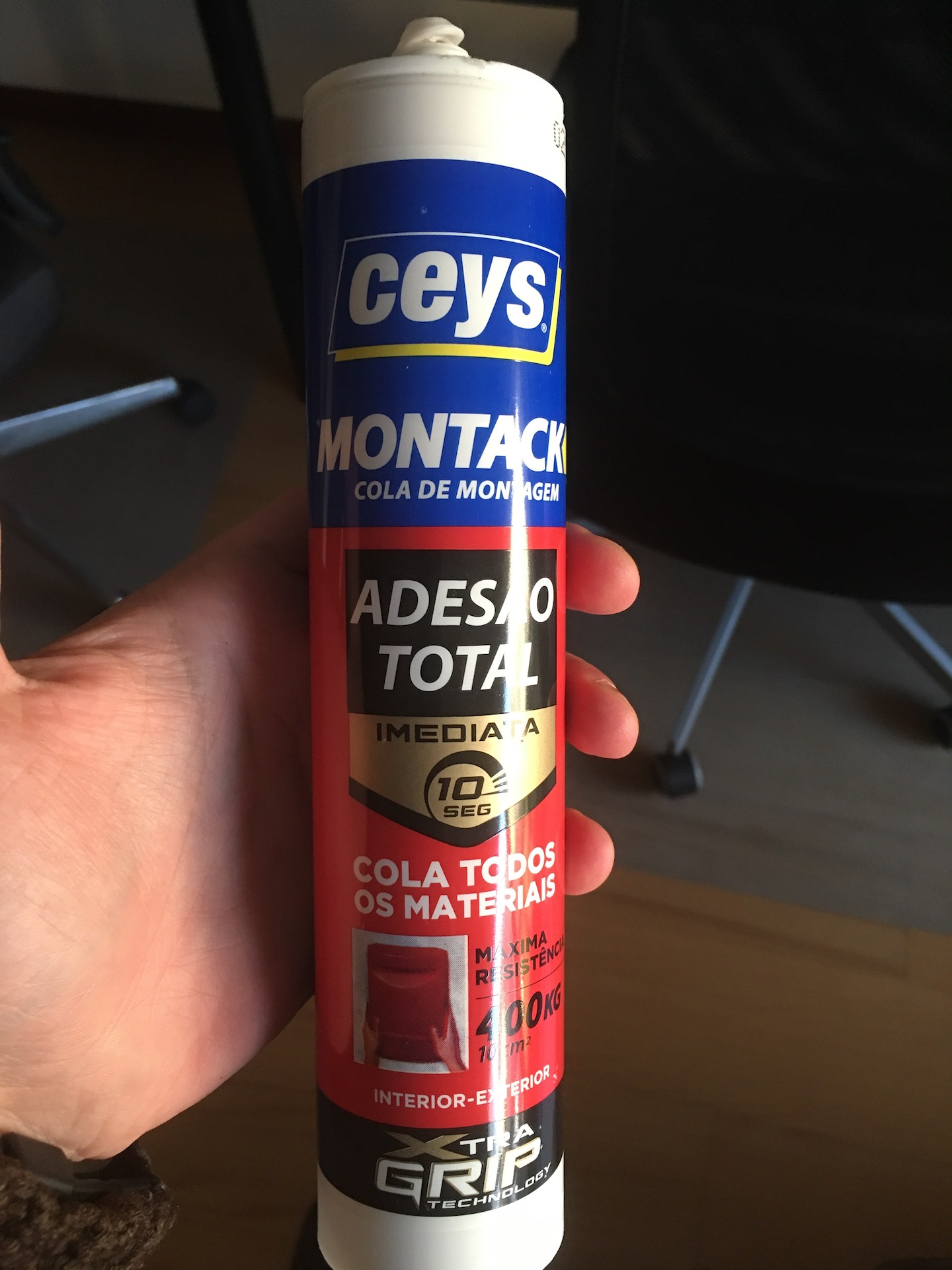 Brand of the adhesive
